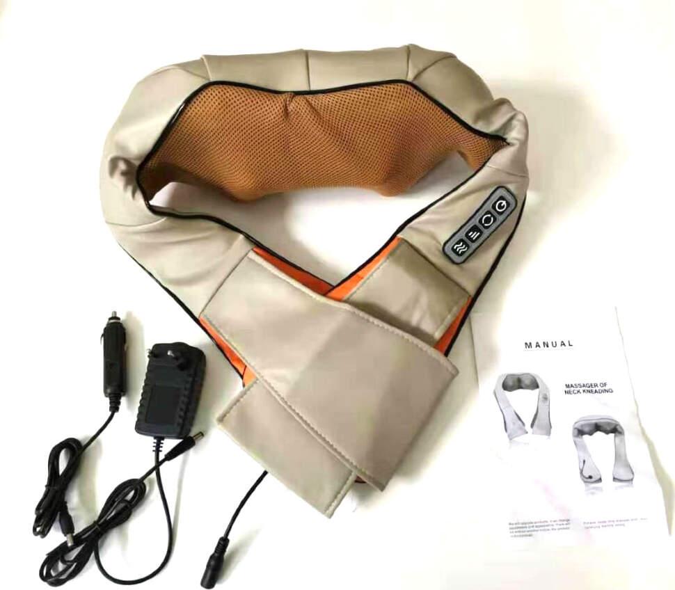 Массажер для шеи и плеч с ИК - подогревом