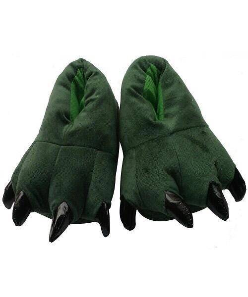 "Тапочки для кигуруми ""Зеленые"""