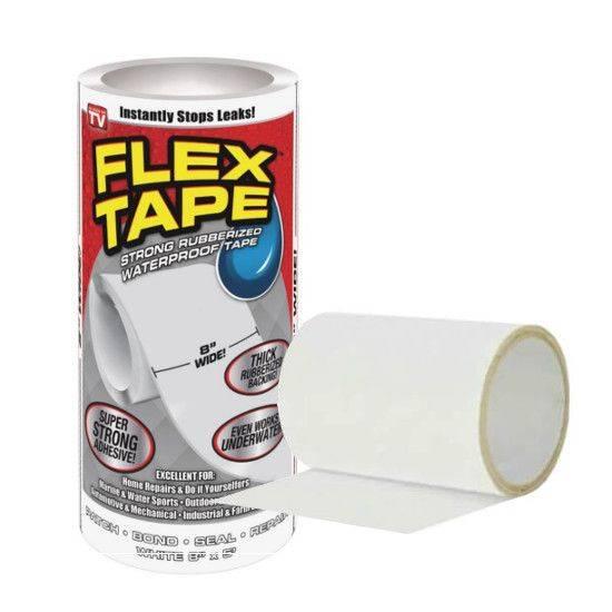 """Сверхсильная клейкая лента Flex Tape 8"""" (Флекс Тайп)"""