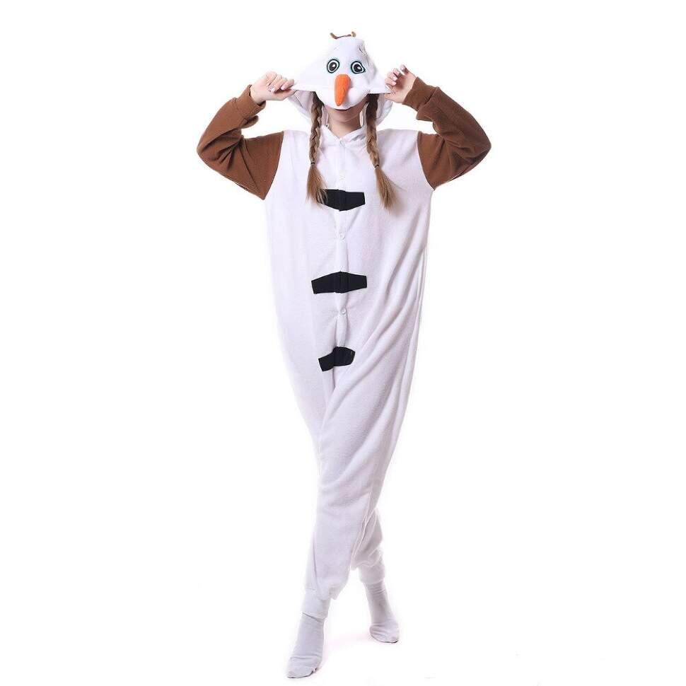 Пижама Кигуруми Снеговик