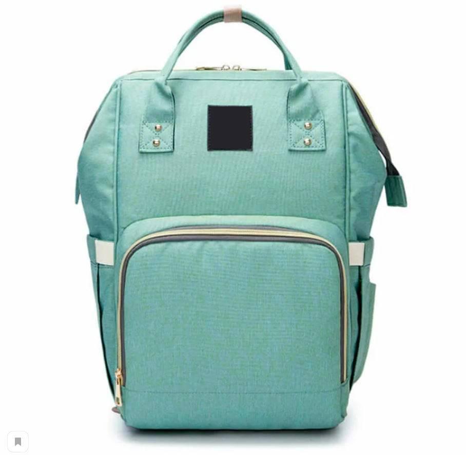 Сумка-рюкзак для мамы Мятный