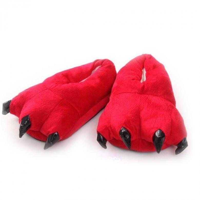 """Тапочки для кигуруми """"Красные"""""""