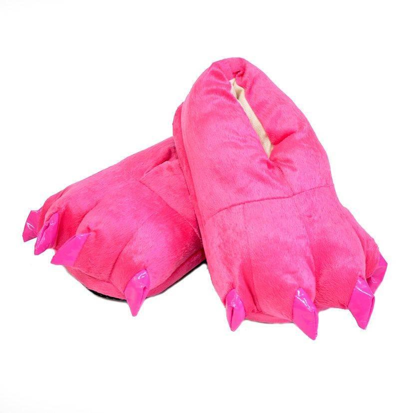 """Тапочки для кигуруми """"Ярко-розовые"""""""