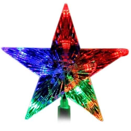 Звезда на елку светодиодная