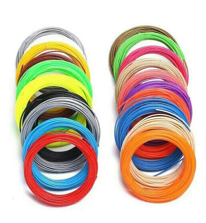 PLA-пластик для 3D ручки (8 цветов)