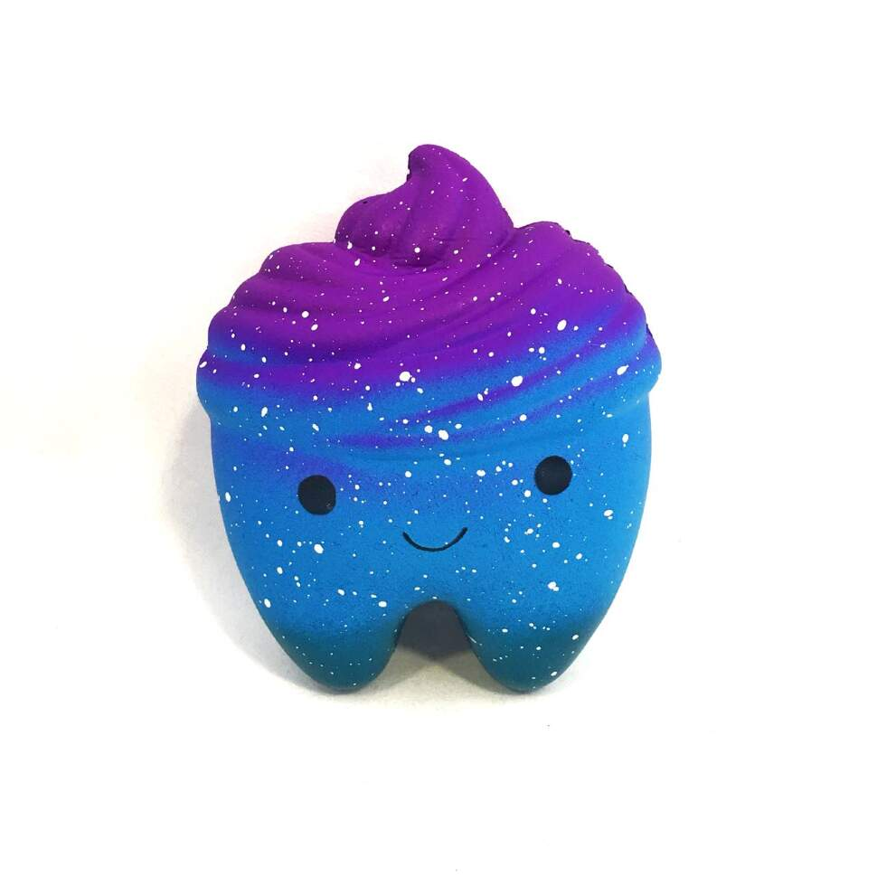 """Антистресс игрушка Squishy """"Космические зубы"""""""