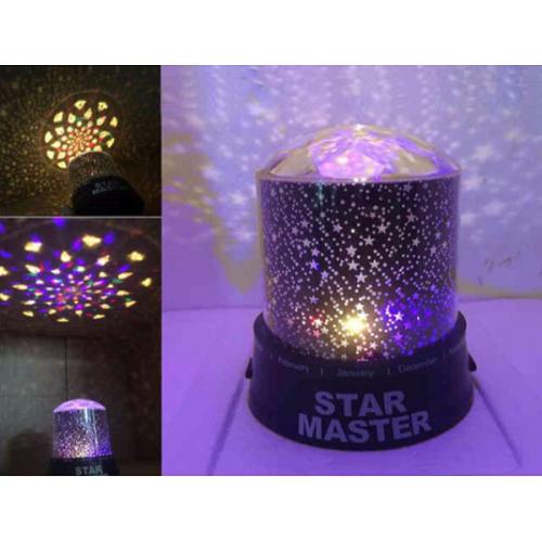 Светильник ночник-проектор звездного неба Star Master