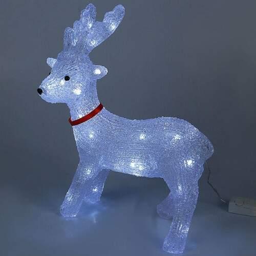 Светящийся олень светодиодный