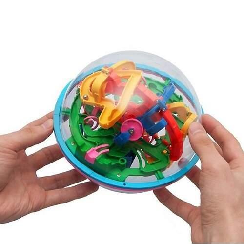 Головоломка Magical Intellect Ball шар-лабиринт