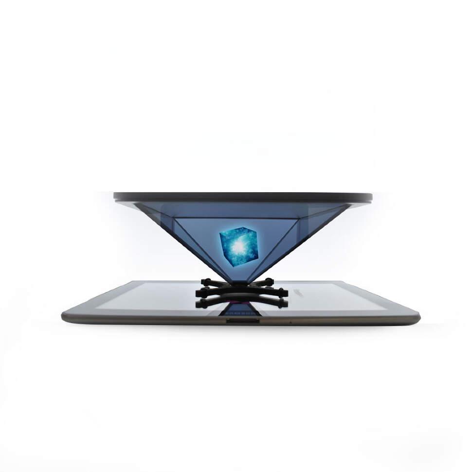 Пирамида 3D-реальности для телефона