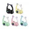 Беспроводные наушники Cat Ear P33M со светящимися ушками и лапками