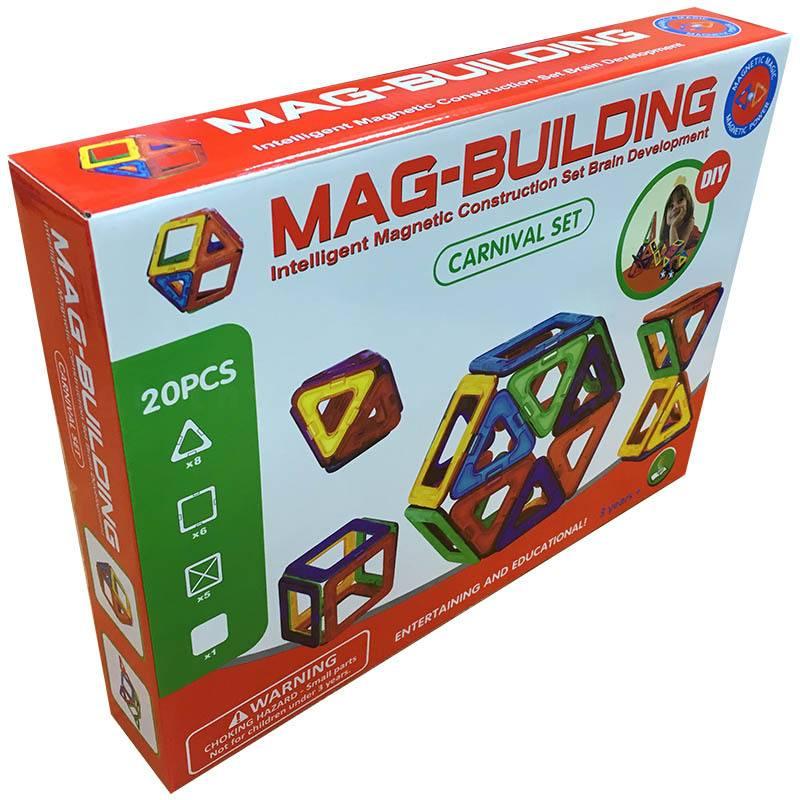 Магнитный конструктор Mag-Building Carnival 20 деталей