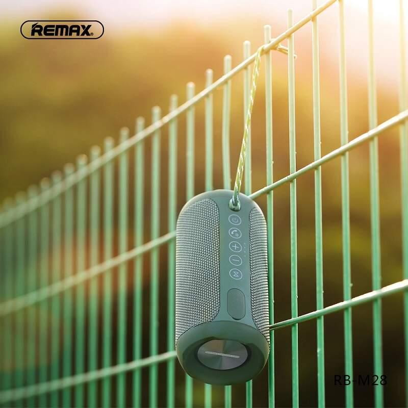 Беспроводная колонка Remax RB-28 PRO с подсветкой