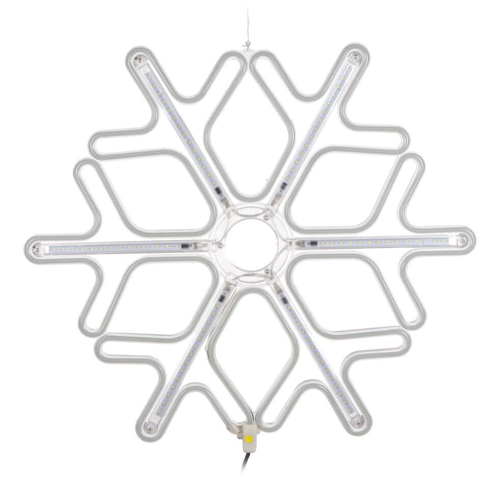 Новогодняя гирлянда Снежинка 60 см