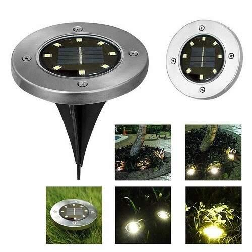 Садовые светильники на солнечной батарее (4 шт.)