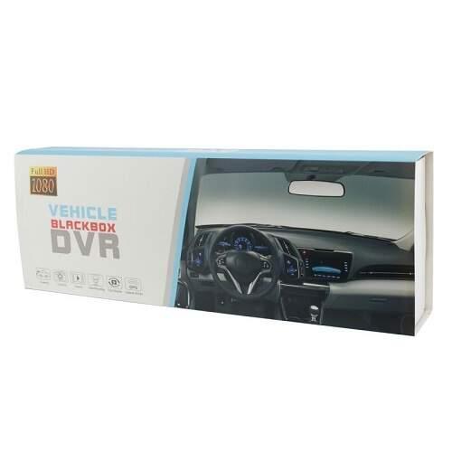Зеркало заднего вида с видеорегистратором DVR BlackBox с камерой заднего вида