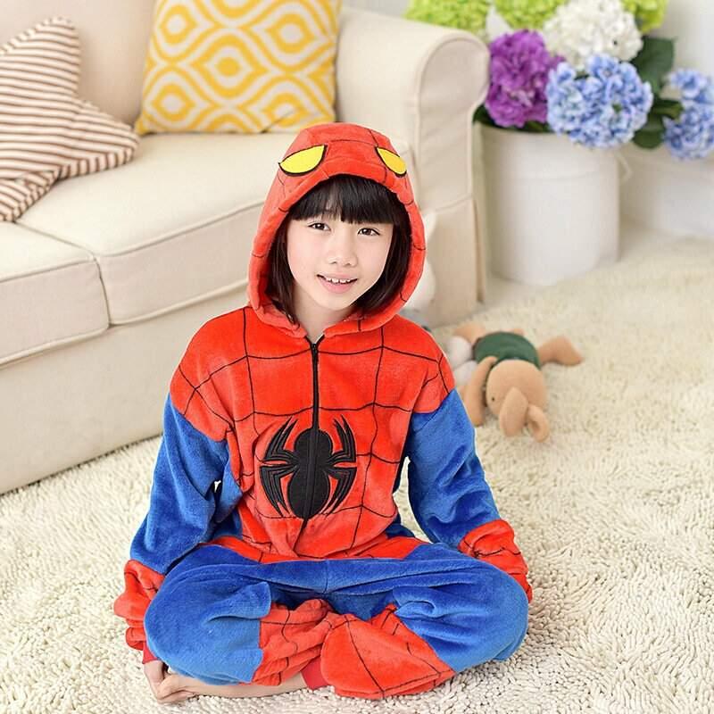 "Детская Пижама Кигуруми ""Человек-паук"""