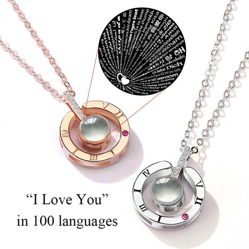 "Кулон ""Я люблю тебя"" на 100 языках мира"
