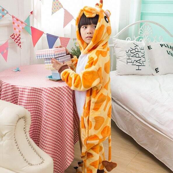 "Детская Пижама Кигуруми ""Жираф"""