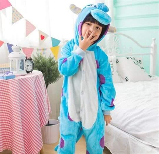 Детская Пижама Кигуруми Салливан (Корпорация монстров)