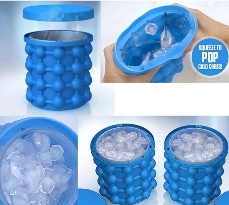 Силиконовое ведро для льда Ice Genie
