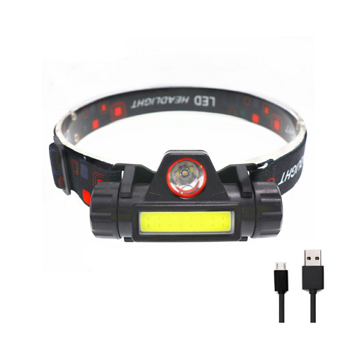 Налобный фонарь HT-665 аккумуляторный