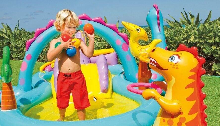 "Надувной центр INTEX ""Dinoland Play Center"" 57135"