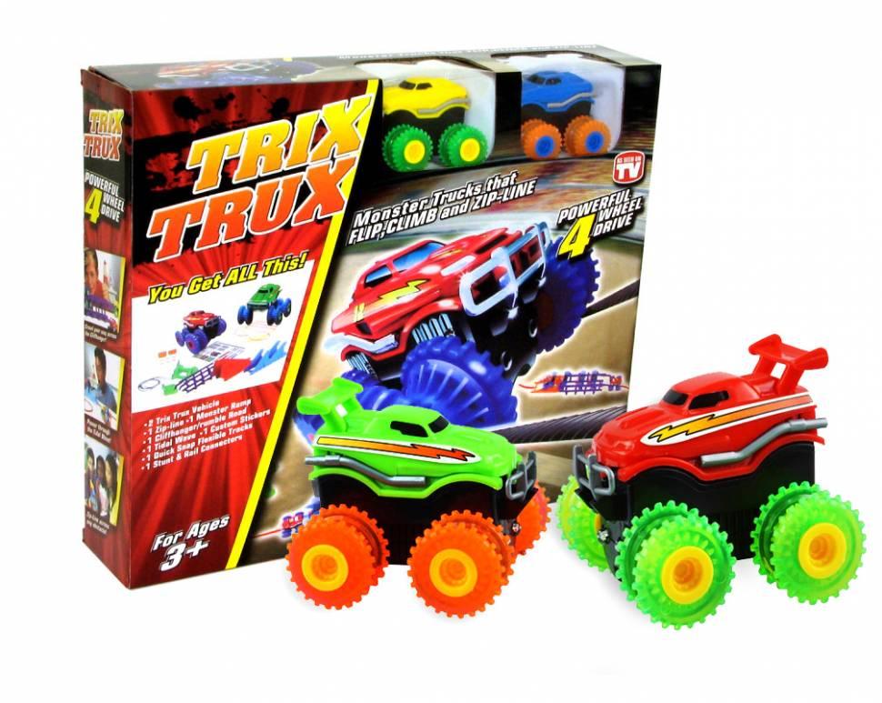 """Канатный трек """"Trix Trux"""" с двумя машинками"""