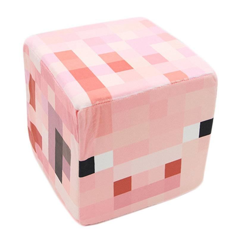 Плюшевый куб PIG (Minecraft)