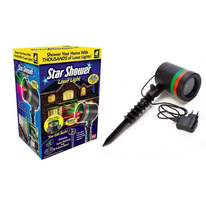 TV-317 Лазерный звездный проектор Star Shower Laser Light Projector