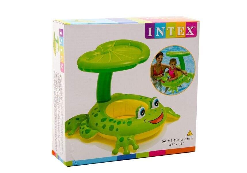 Надувной круг INTEX Лягушка 56584