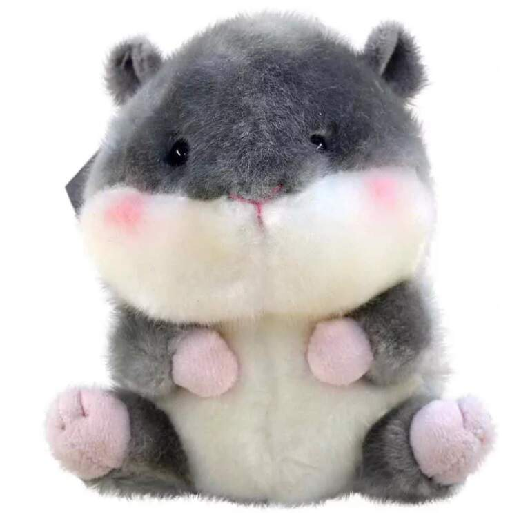Мягкая игрушка Хомяк с присоской 20 см.