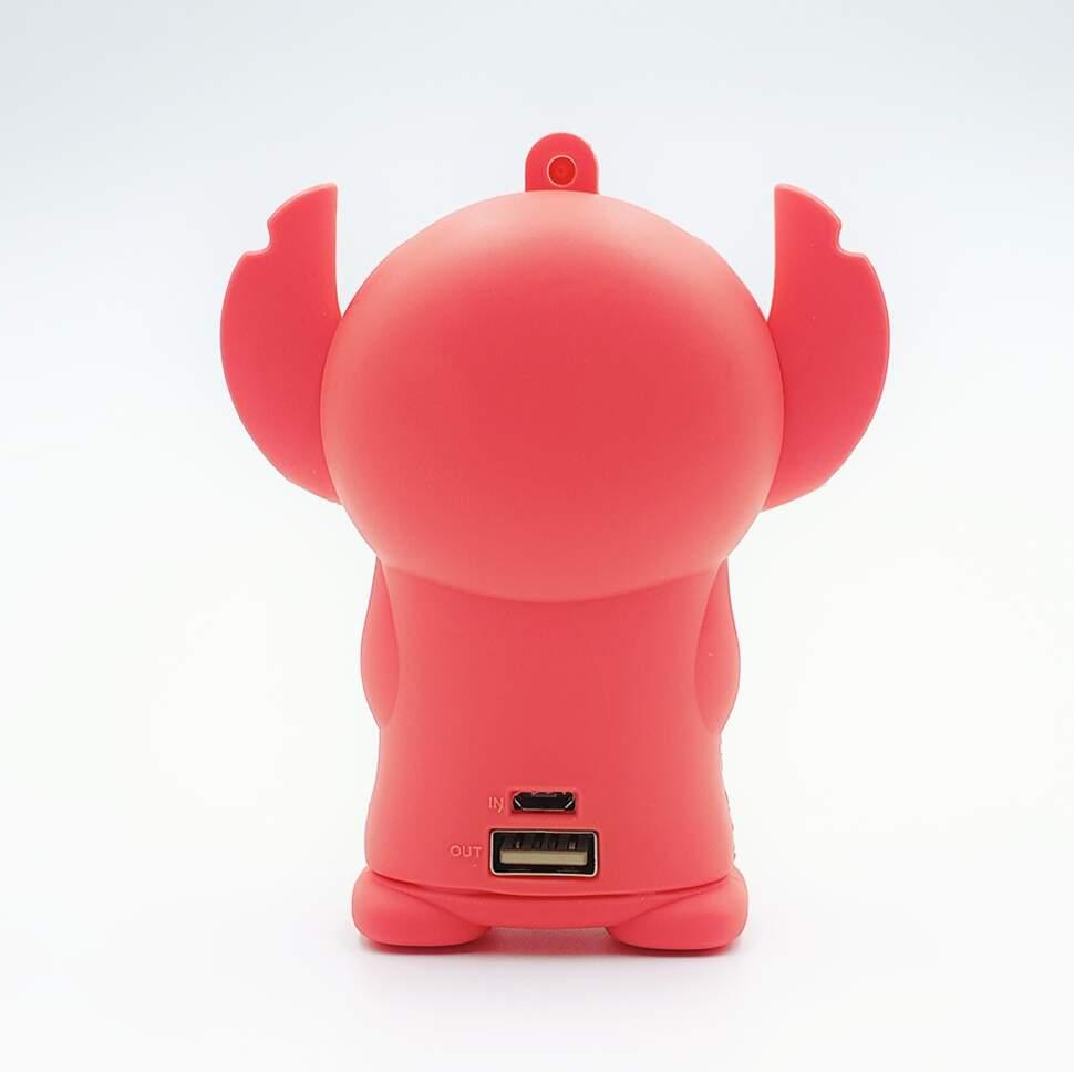 """Внешний аккумулятор Power Bank """"Розовый Стич"""" 4400 mAh"""