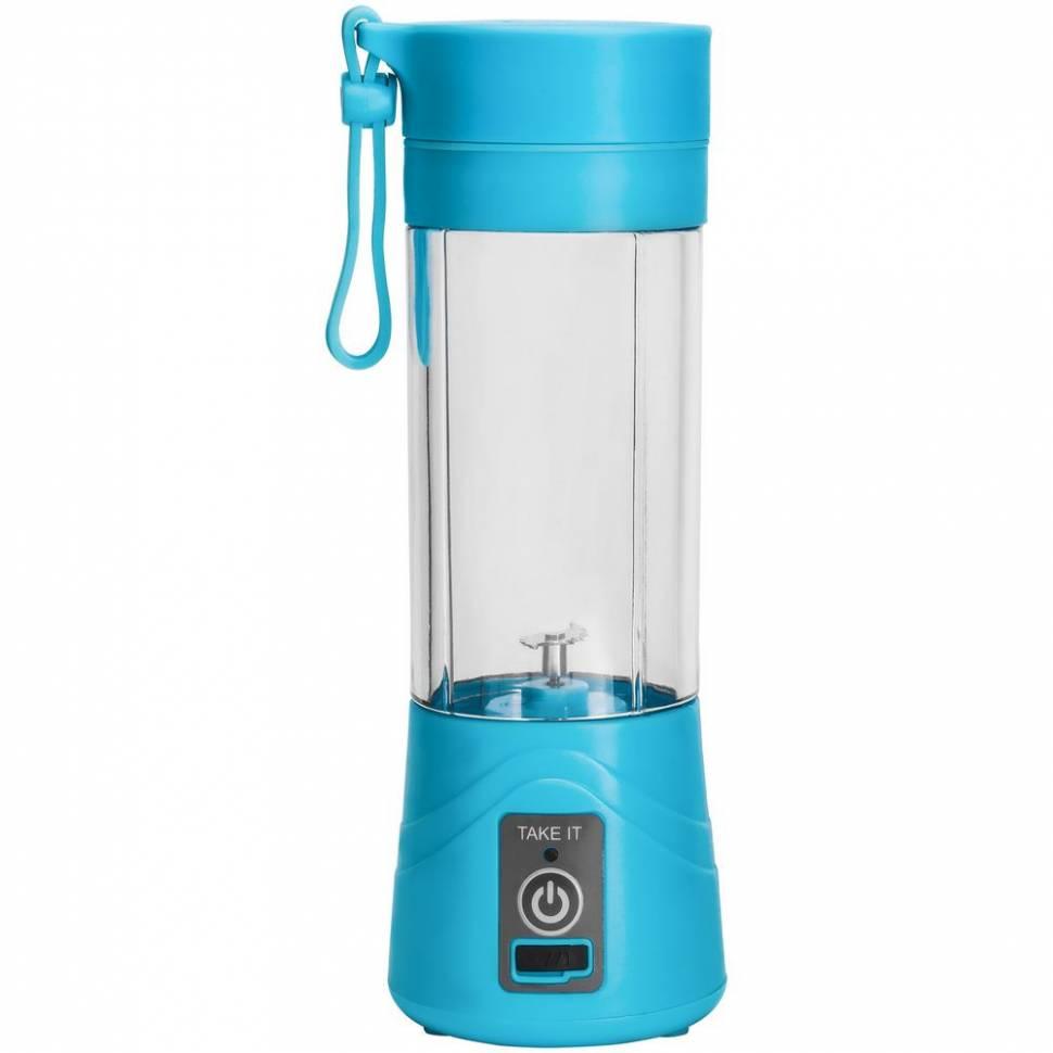 Портативный USB блендер Juice Blender для смузи Голубой