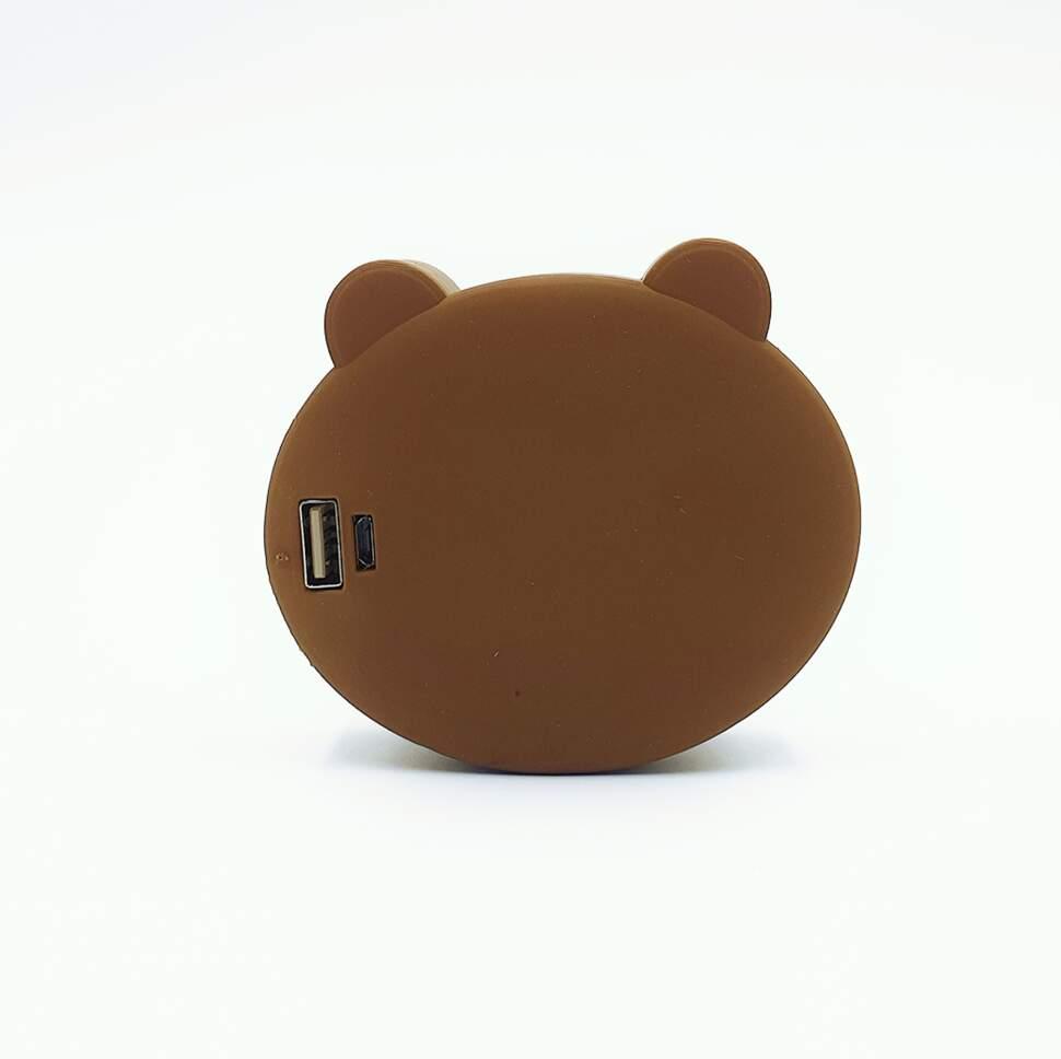 "Внешний аккумулятор Power Bank ""Мишка"" 4400 mAh"