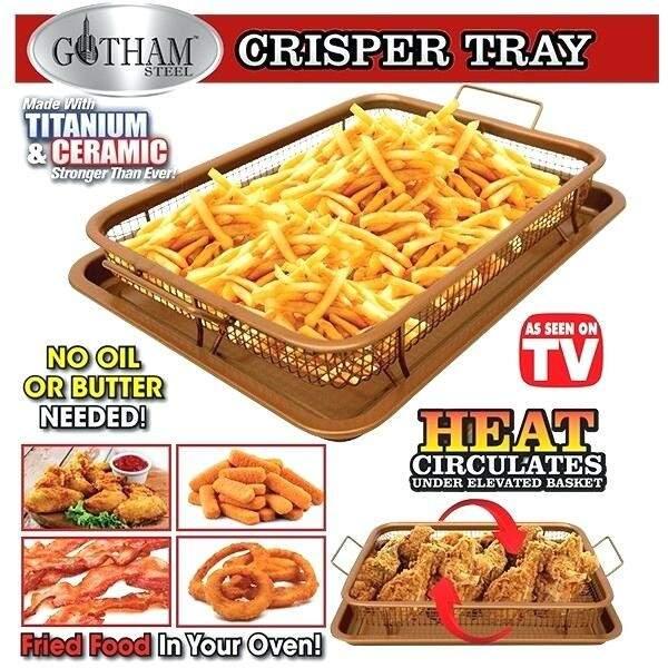 Сетка для духовки, фритюра и барбекю Crispy Tray