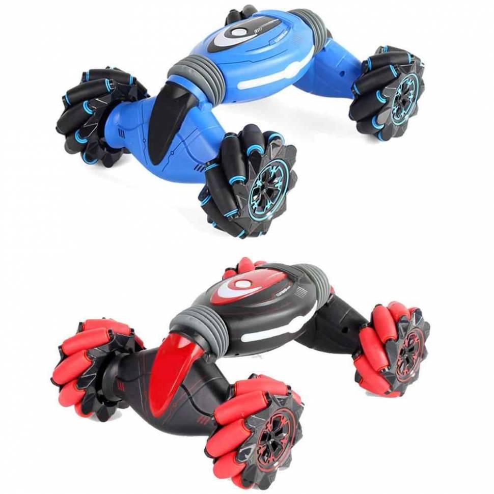 Радиоуправляемая Машинка-перевертыш Willesu Toys Stunt Double-Sided