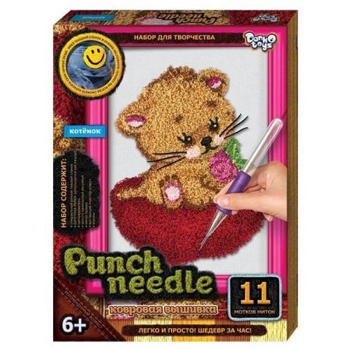 Набор для вышивания «Punch Needle» Котёнок