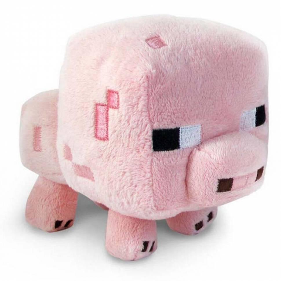 "Мягкая игрушка Майнкрафт ""Поросенок"" (Pig)"