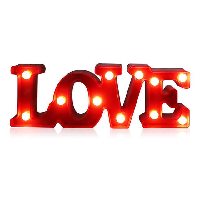 "LED Светильник ""LOVE"""