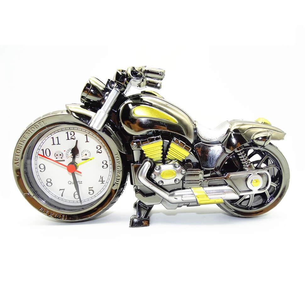 """Часы-будильник """"Мотоцикл"""""""