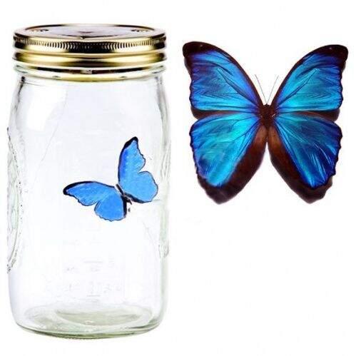 Электронная бабочка в банке