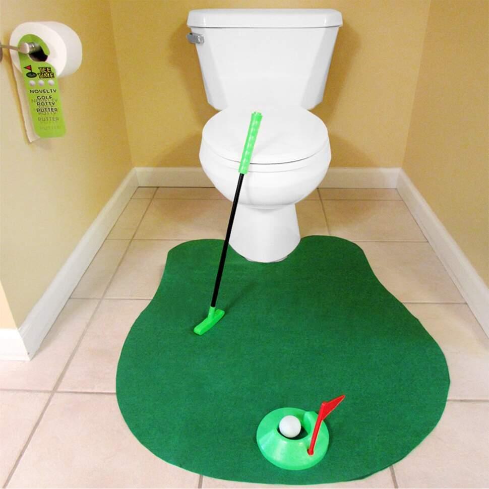 Гольф - коврик для туалета