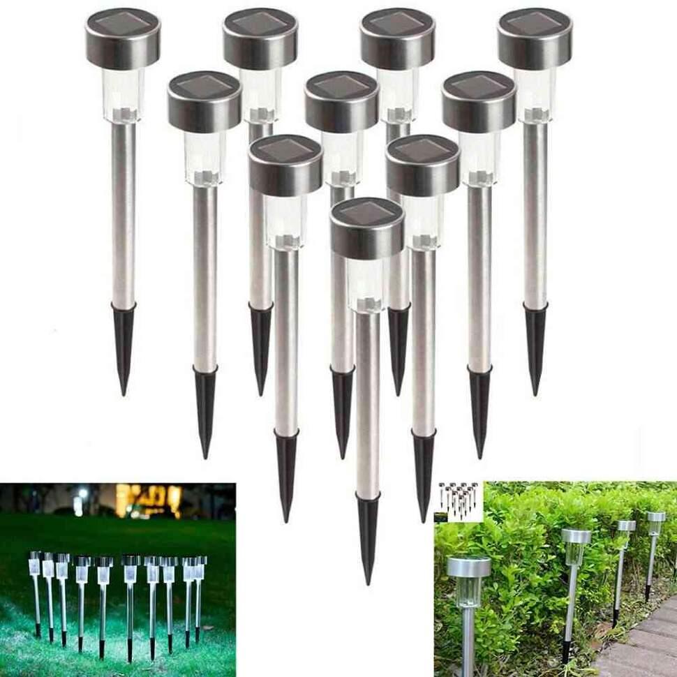 """Фонарь садовый металлический """"Solar Garden Lights"""" с одним светодиодом"""